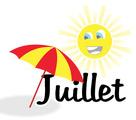 Logo stage mois de juillet
