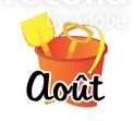 Logo stage mois d'août