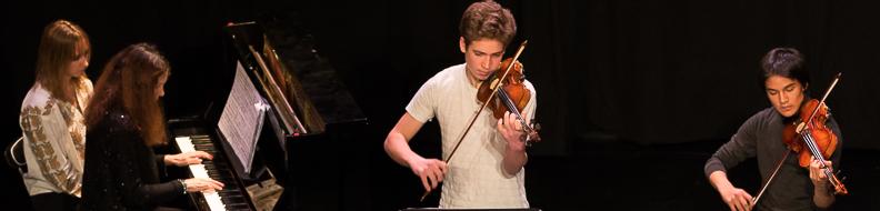 musique classique duo de violon Epicentre