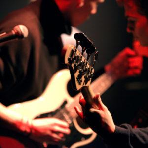 Musique actuelle guitare concert