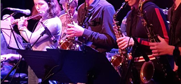 musique actuelle saxophones ensemble flute