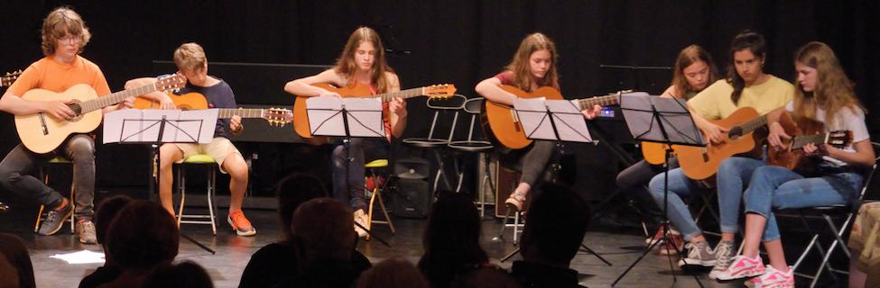 musique classique guitare ensemble concert